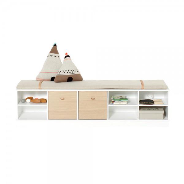 Oliver Furniture Wood Standregal breit & niedrig