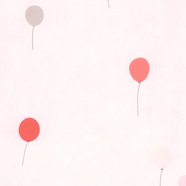 Casadeco Tapete Luftballons grau rosa Jules & Julie