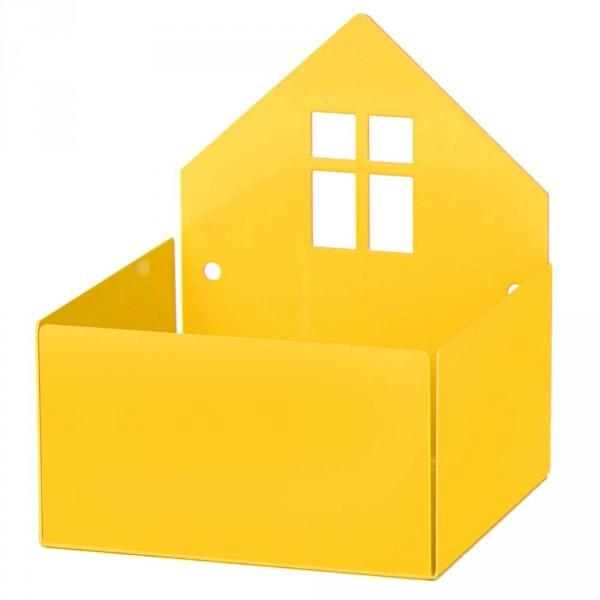 Roommate Wandregal Haus gelb