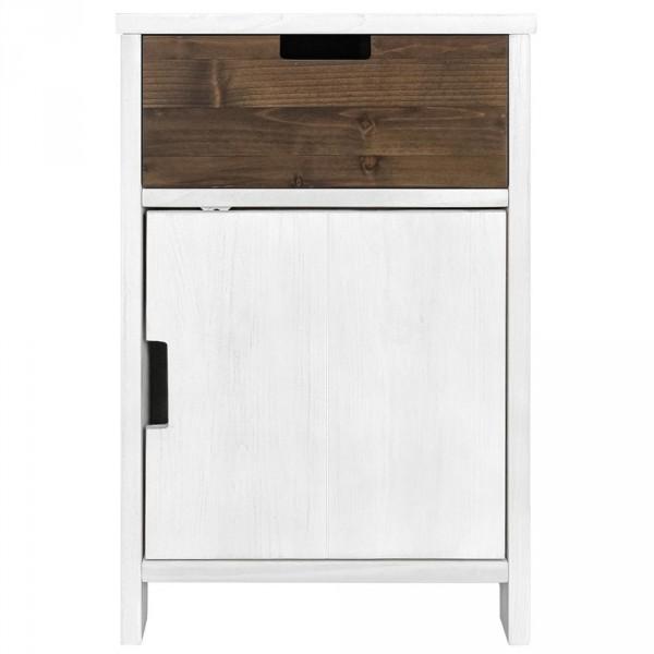 Bopita Basic Wood Schubladencontainer white wash