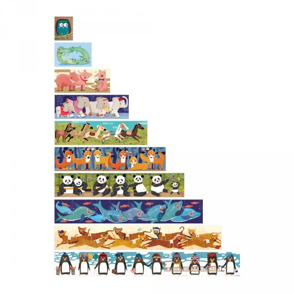 Londji Kinder Puzzle 10 Penguins