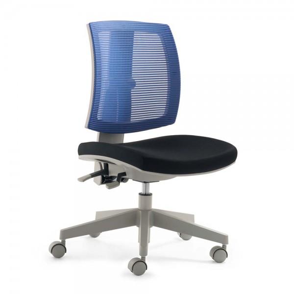 Mayer Kinder Bürostuhl flexo Netz blau