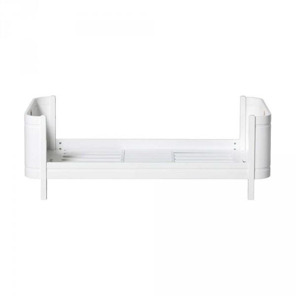 Oliver Furniture Wood Mini+ Umbauset halbhohes Hochbett zu Juniorbett weiss