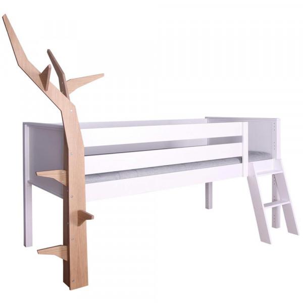 De Breuyn Kasva halbhohes Bett mit Baum