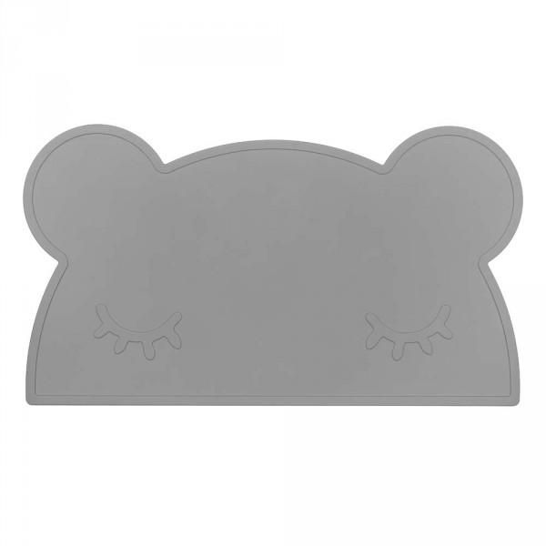 We Might Be Tiny Kinder Tischset Silikon Bär grau