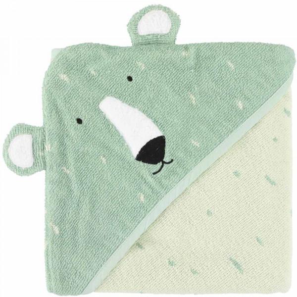 Trixie Kapuzenhandtuch Eisbär Mr. Polar Bear