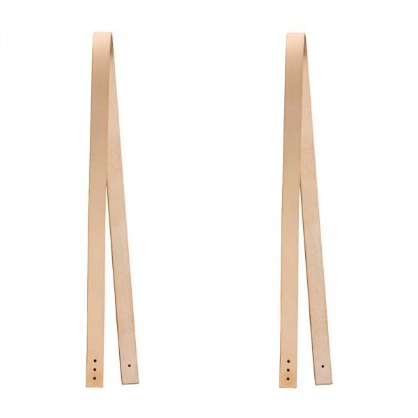 Oliver Furniture Wood Lederband für Sitzkissen 2 Stück