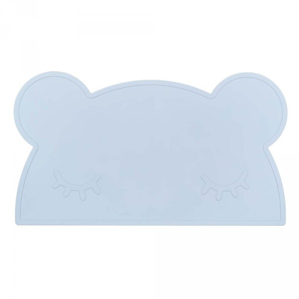 We Might Be Tiny Kinder Tischset Silikon Bär blau
