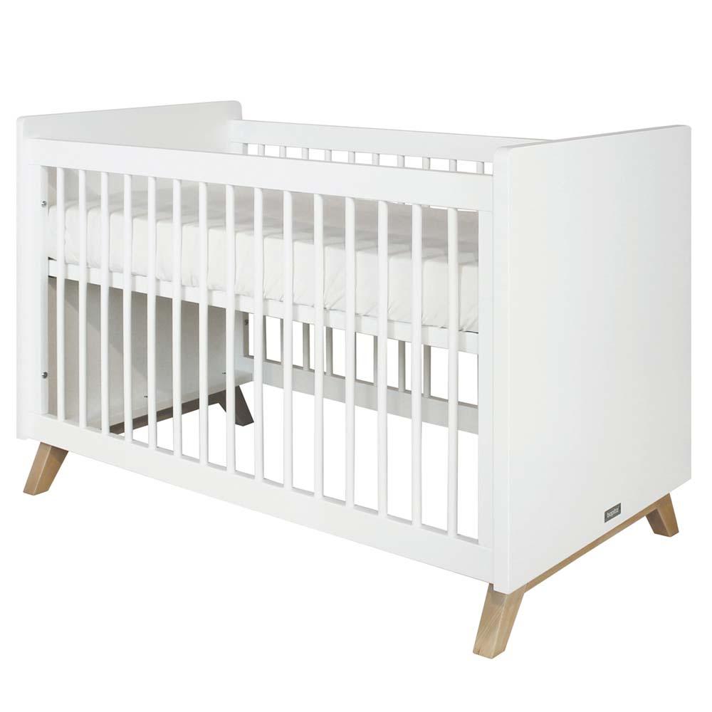bopita lynn babybett 60 x 120 bei kinder r ume. Black Bedroom Furniture Sets. Home Design Ideas