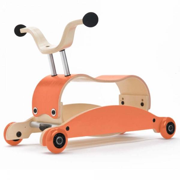 Wishbone Rutschfahrzeug Mini Flip orange