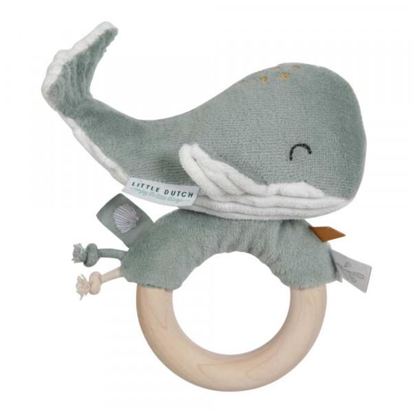 Little Dutch Ringrassel Wal Ocean mint