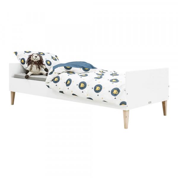 Bopita Indy Kinderbett 90 x 200 weiss natur ohne Lattenrost