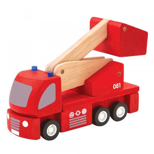 Plan Toys Spielzeug Feuerwehrauto Holz