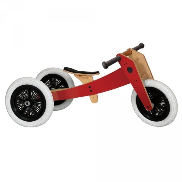 Wishbone Dreirad / Laufrad 3 in 1 rot