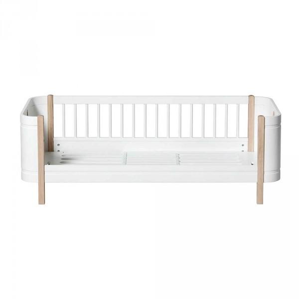 Oliver Furniture Wood Mini+ Umbauset halbhohes Hochbett zu Juniorbett Eiche