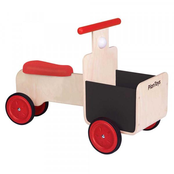 Plan Toys Rutschauto mit Lieferkorb Holz
