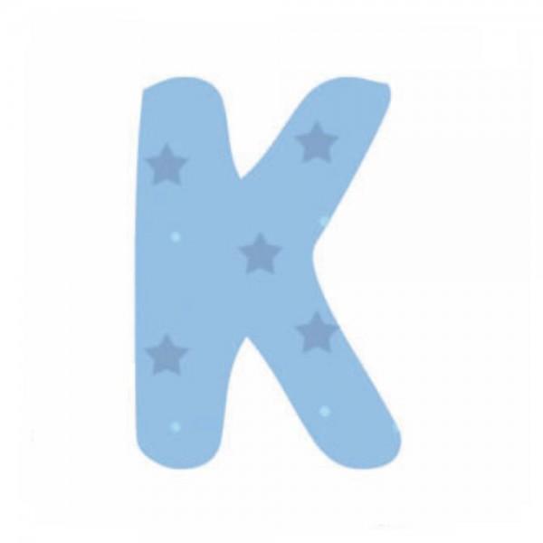 Lilipinso Sticker blau Buchstabe k