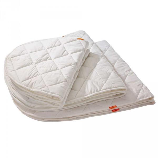 Leander Matratzenauflage für Babybett weiss
