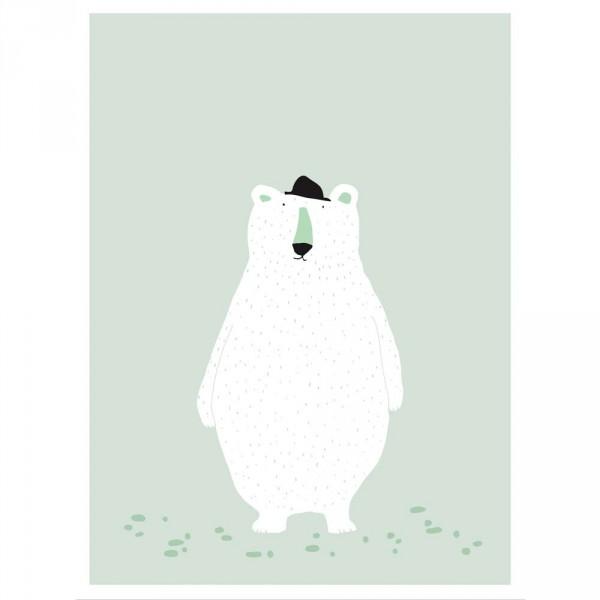 Trixie Kinderposter Eisbär