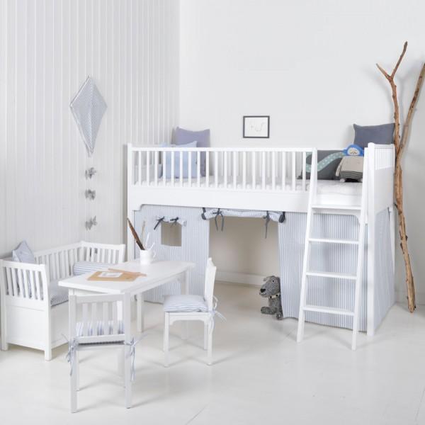 Oliver Furniture Bett oliver furniture umbauset von halbhohem bett zu hochbett bei kinder