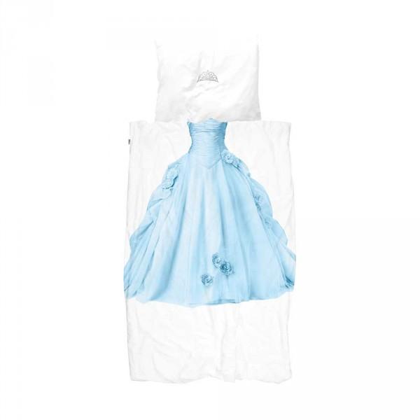 Snurk Bettwäsche Prinzessin blau 135 x 200