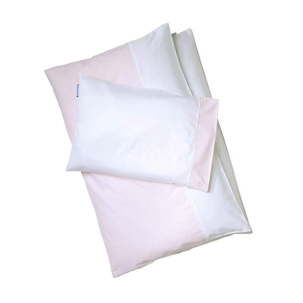 nordic coast kinder bettw sche pink sky rosa wei 100 x 135 bei kinder r ume. Black Bedroom Furniture Sets. Home Design Ideas