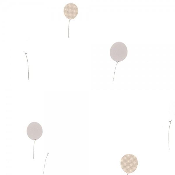 Casadeco Tapete Luftballons grau Jules & Julie