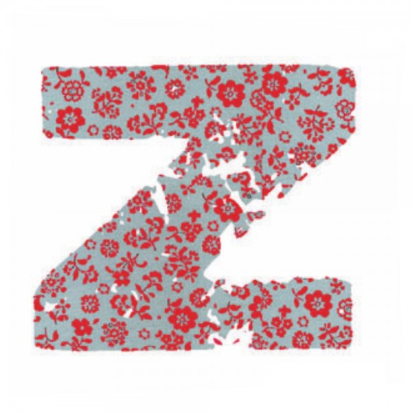 Lilipinso Sticker rosa Buchstabe z