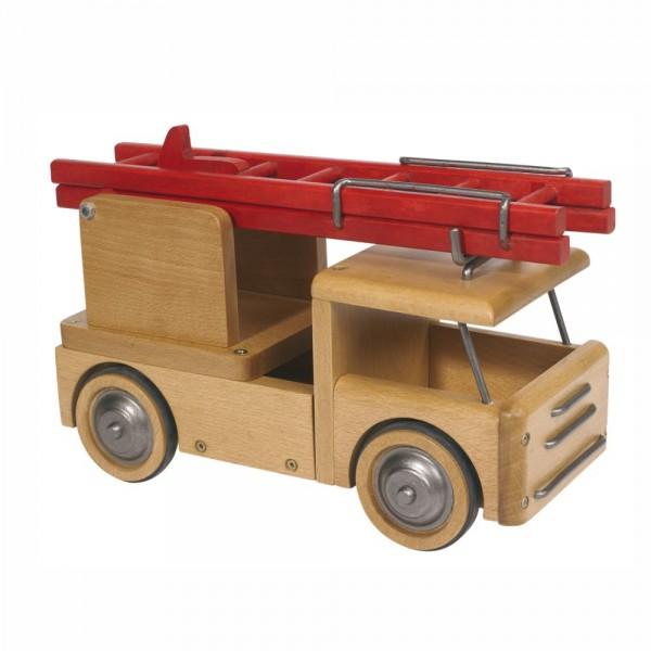 Holz Feuerwehrauto von Moulin Roty