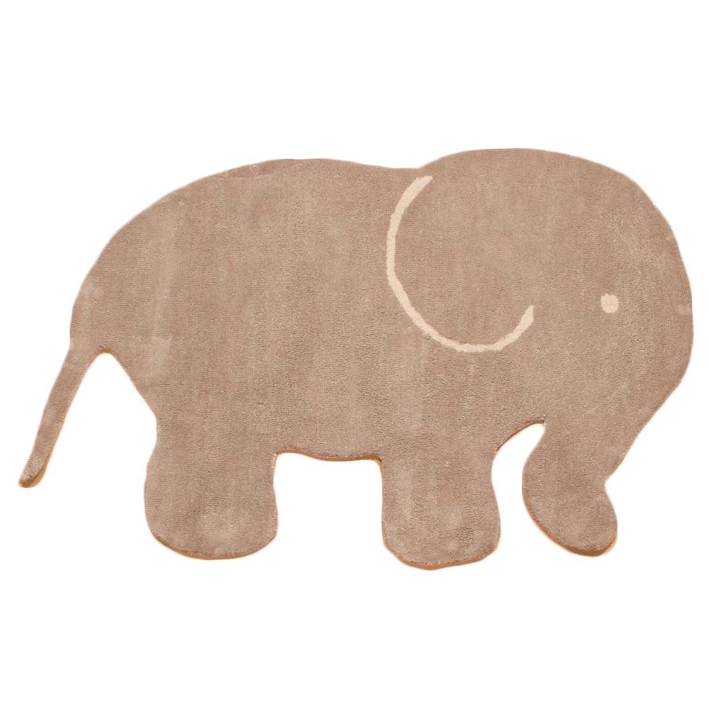 asoral roomplanner teppich elefant braun bei kinder r ume. Black Bedroom Furniture Sets. Home Design Ideas