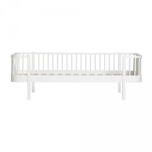 Oliver Furniture Wood Umbauset Juniorbett zum Bettsofa weiss