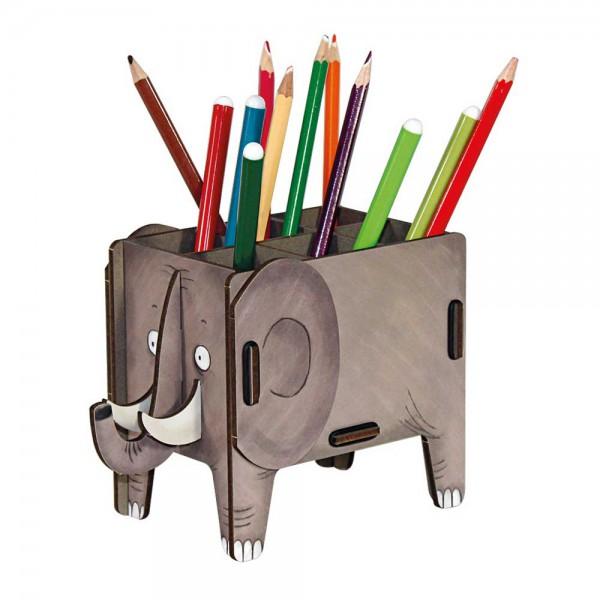 Werkhaus Stiftebox Vierbeiner Elefant