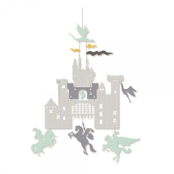 Djeco Kinder Mobile Burg