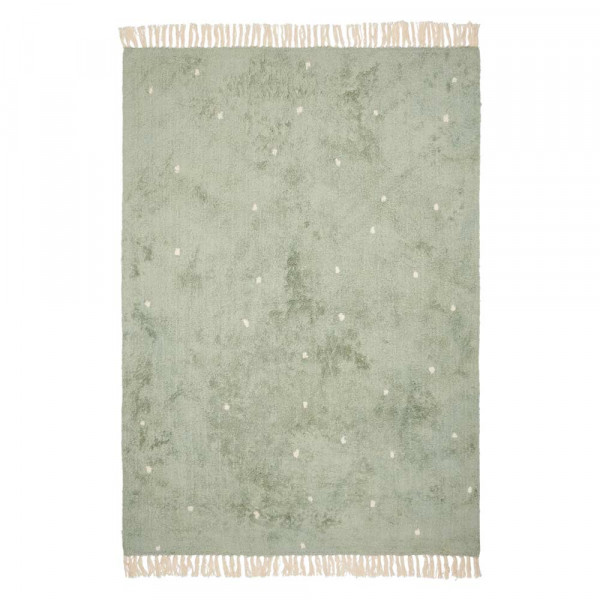 Little Dutch Teppich Punkte mint 170 x 120