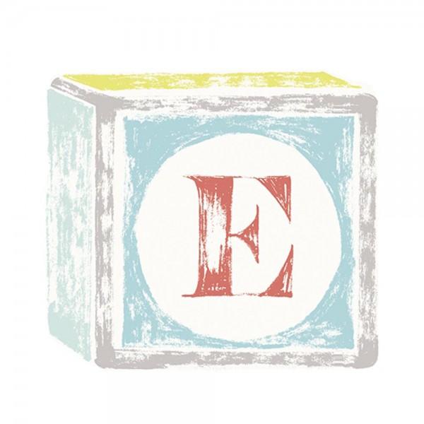 Lilipinso Sticker Buchstabe auf Spielwürfel E