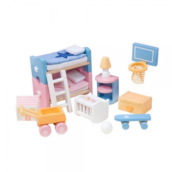 Le Toy Van Puppenhaus Zubehör Kinderzimmerz Sugar Plum