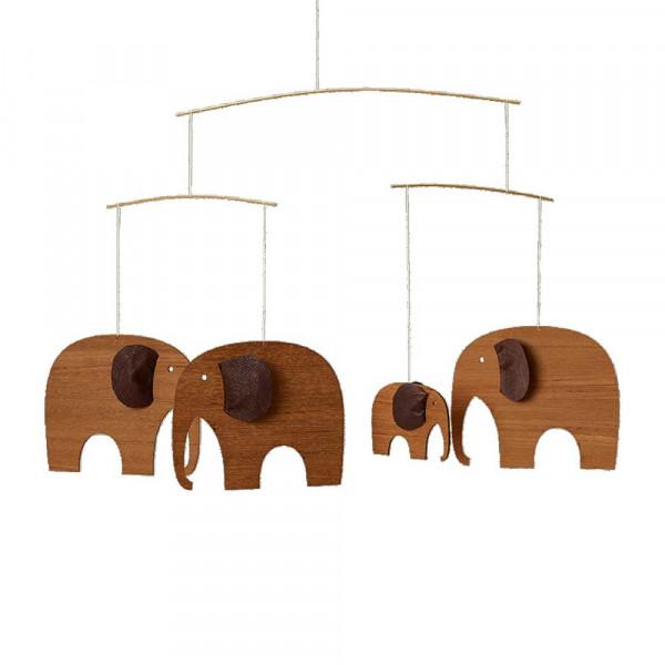 Flensted Mobile Elefanten Holz