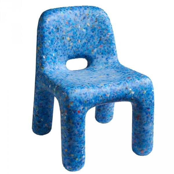 ecoBirdy Kinderstuhl Charlie blau