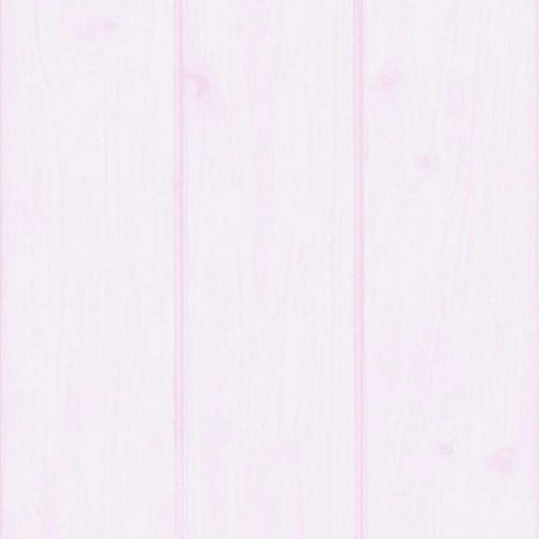 Caselio Ohlala Tapete Holzwand rosa
