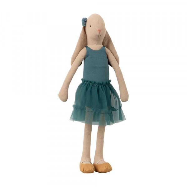 Maileg Stofftier Hase Bunny Größe 3 Ballerina petrol