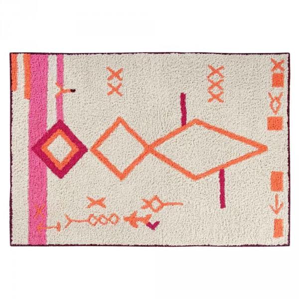 Lorena Canals Teppich Saffi pink orange