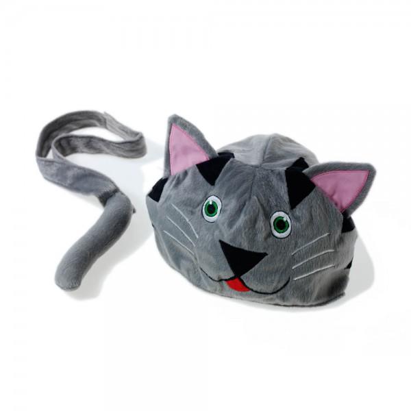 Oskar & Ellen Tier Spielmütze Katze