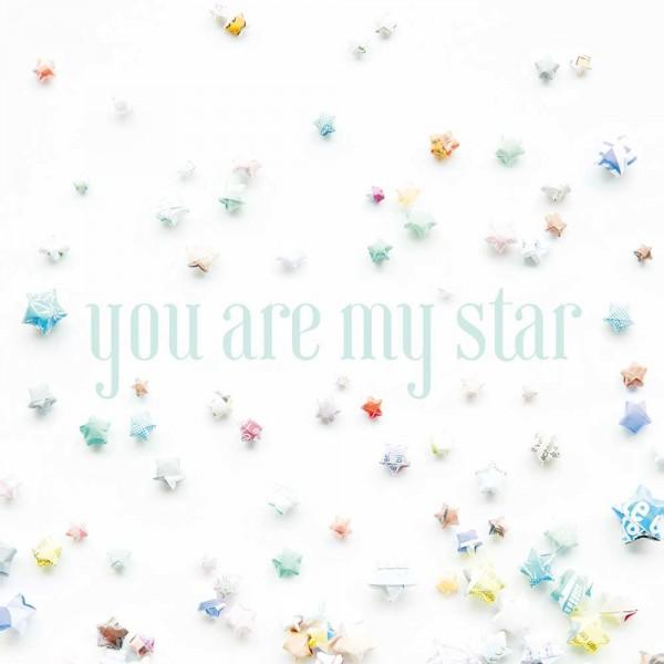 Eijffinger Tout Petit Tapeten Wandbild Sterne mint