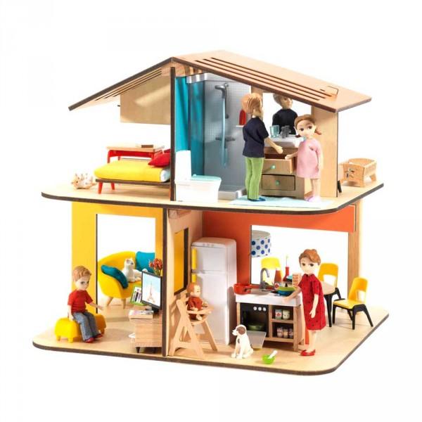 Djeco Puppenhaus Modern