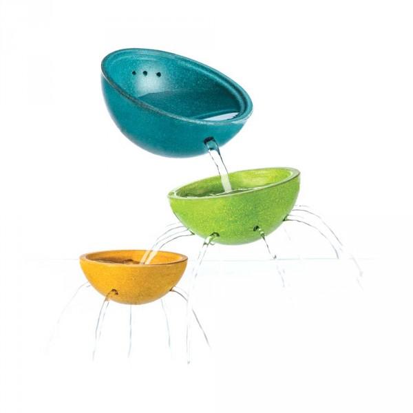 Plan Toys Badewannen Spielzeug Becher-Set bunt