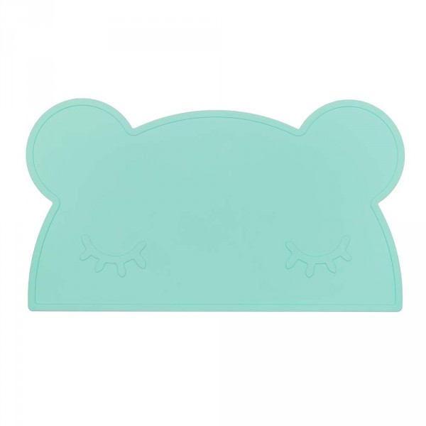 We Might Be Tiny Kinder Tischset Silikon Bär mint