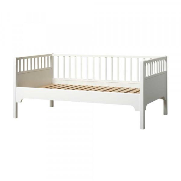 Oliver Furniture Seaside Junior-Bettsofa 90 x 160 weiß