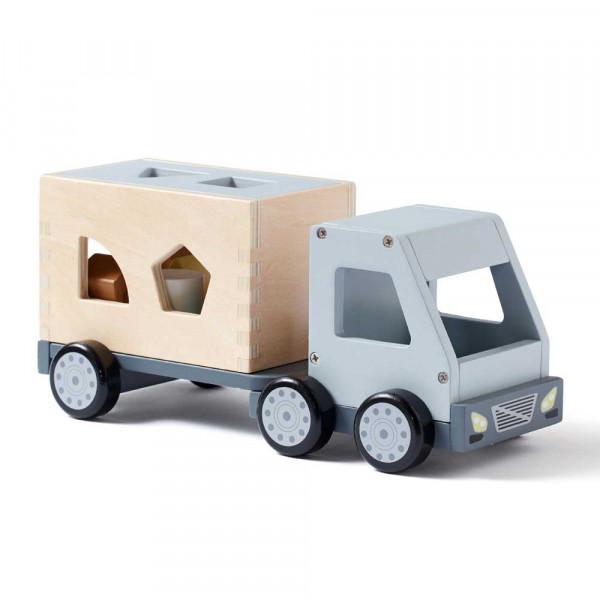 Kids Concept Spielzeug Steckspiel Laster Holz