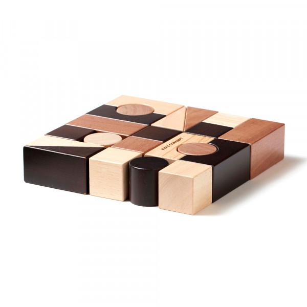 Kids Concept Bauklötze NEO Holz naturfarben