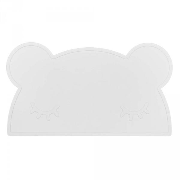 We Might Be Tiny Kinder Tischset Silikon Bär weiß